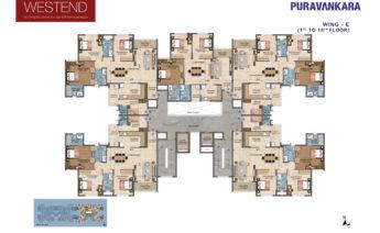 blockplan_wingE1to 18th Floor